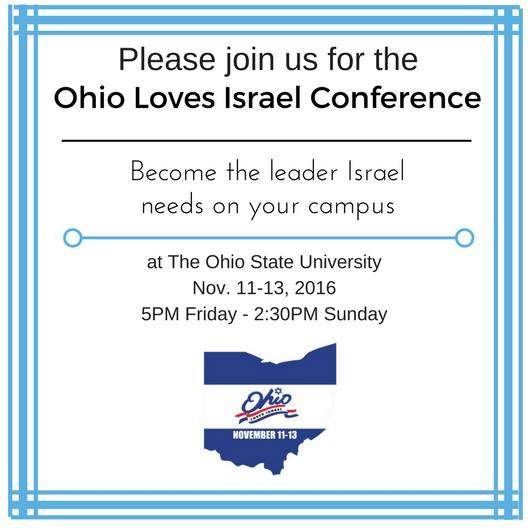 Ohio Loves Israel Week - Penn State Hillel : Penn State Hillel